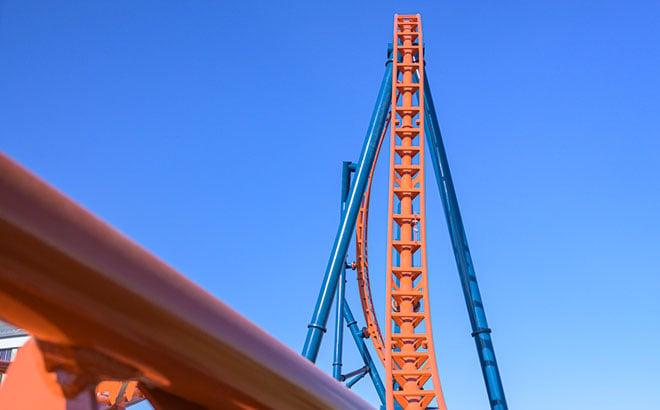 SeaWorld Orlando's Ice Breaker Roller Coaster