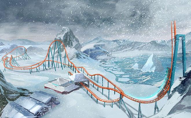 Ice Breaker – SeaWorld Orlando's Newest Roller Coaster
