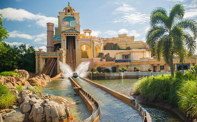 SeaWorld Orlando's Journey to Atlantis Water Coaster