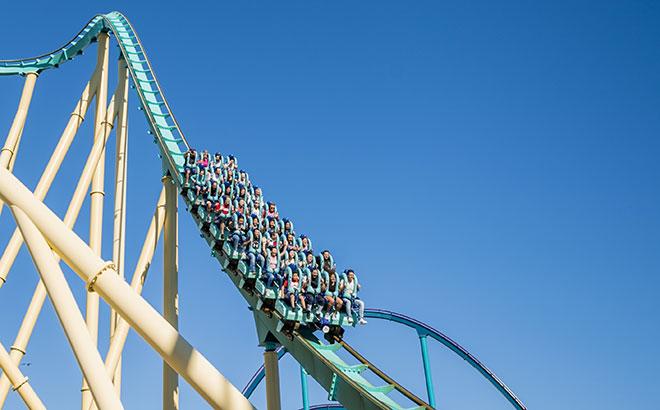SeaWorld Orlando's Kraken Roller Coaster