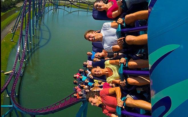 SeaWorld Orlando's Mako Roller Coaster