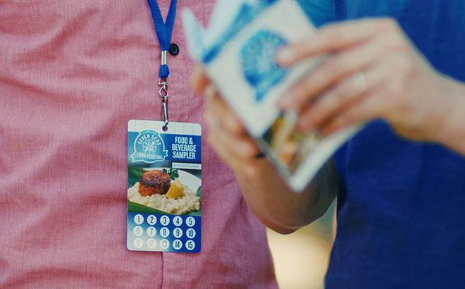 SeaWorld's Seven Seas Food Festival Lanyard