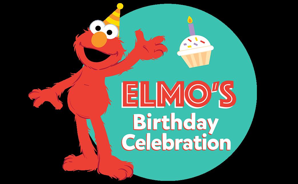 Elmo's Birthday Celebration Logo