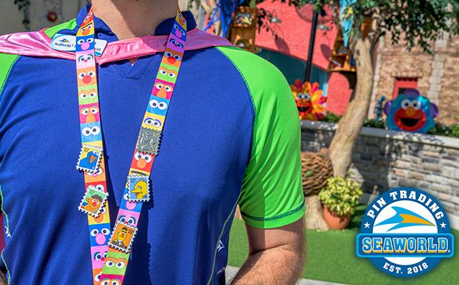 Sesame Street® Trading Pins at SeaWorld