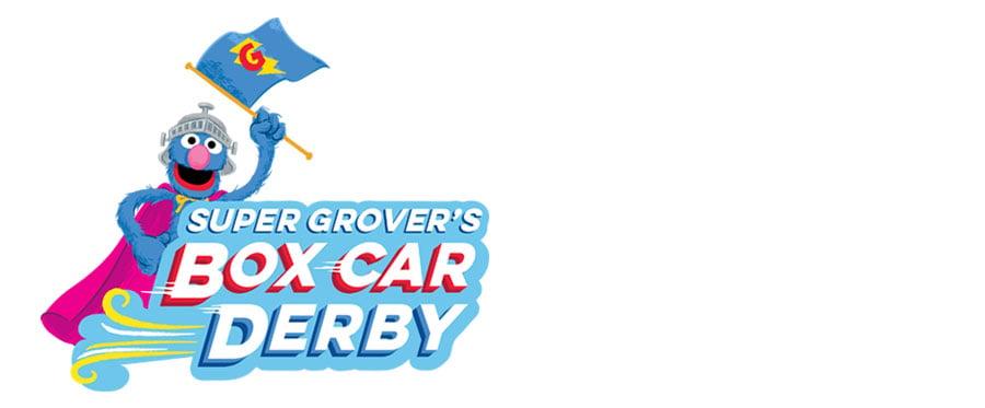 Super Grover's Box Car Derby at SeaWorld Orlando