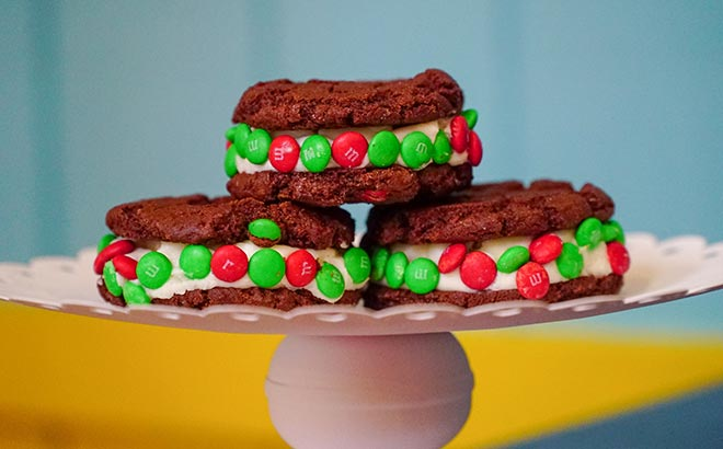 Christmas Cookie Sandwich available during SeaWorld Orlando Christmas Celebration