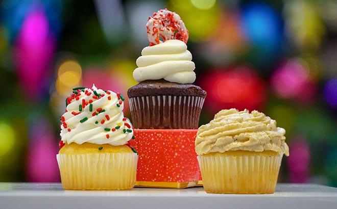 Holiday Cupcakes available during SeaWorld Orlando Christmas Celebration