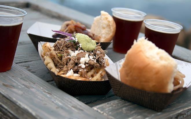 Sample foods and drinks around the SeaWorld Craft Beer Festival event