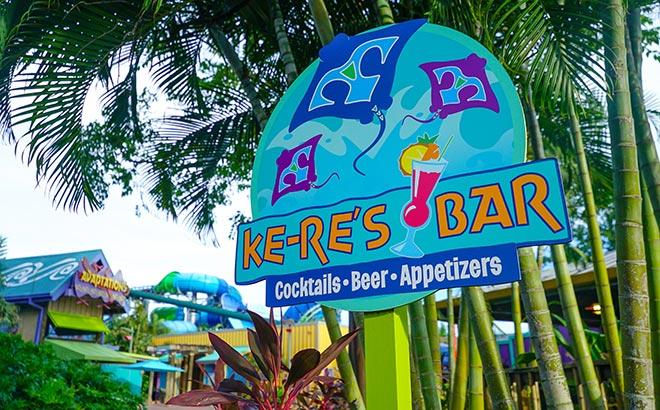 Ke-Res Bar at Aquatica Orlando