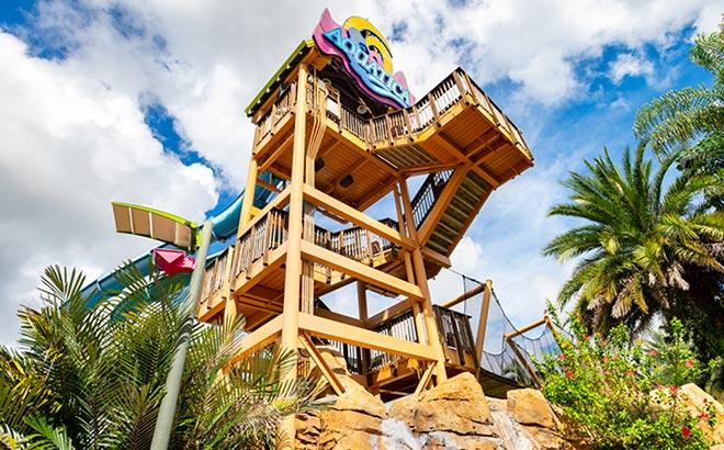 Aquatica Orlando Tower