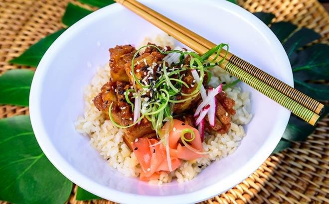 Crispy Pork Belly Bites available during SeaWorld Seven Seas Food Festival