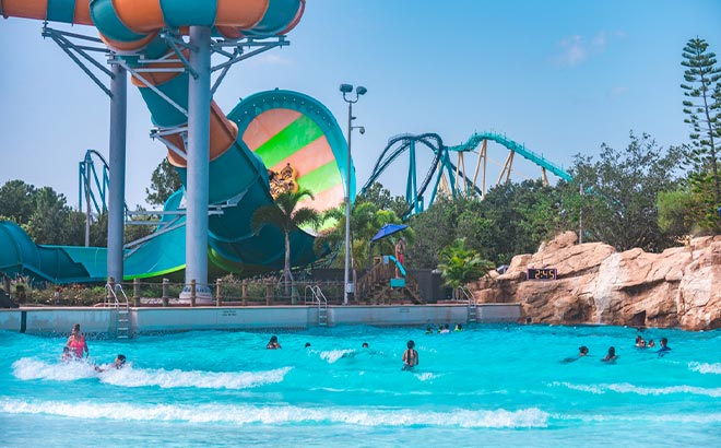 Aquatica Orlando Wave Pool