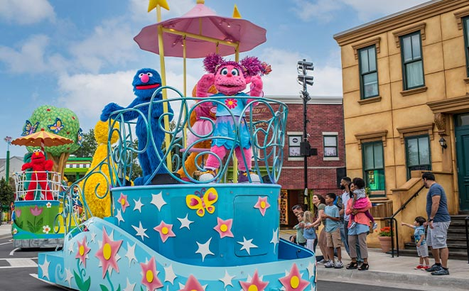 Sesame Street Land Parade at SeaWorld Orlando