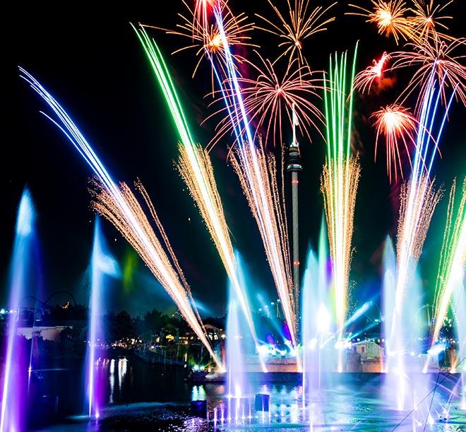 SeaWorld Orlando Electric Ocean Ignite Fireworks