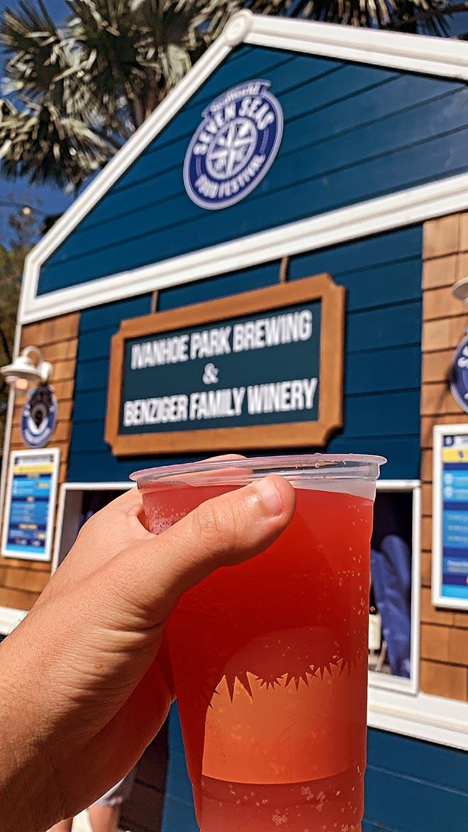 Ivanhoe Brewing Beer at Seaworld Seven Seas Food Festival