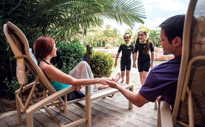 Family cabana at Discovery Cove Orlando