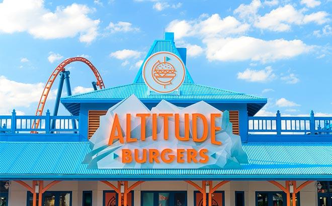 SeaWorld Orlando Altitude Burgers