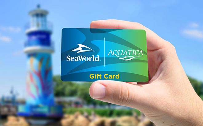 SeaWorld and Aquatica Gift Card
