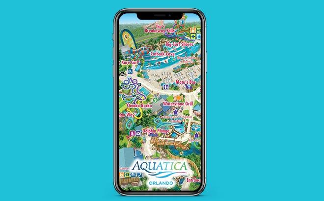 Download the Aquatica Orlando Mobile App