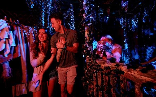 Haunted House at SeaWorld Orlando Howl-O-Scream