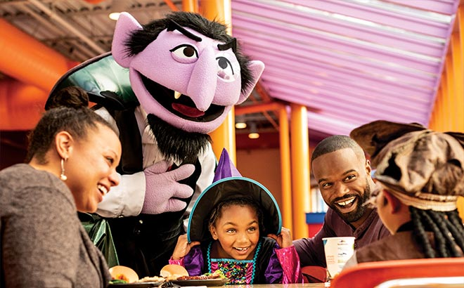 Dine with Count von Count during SeaWorld Halloween Spooktacular