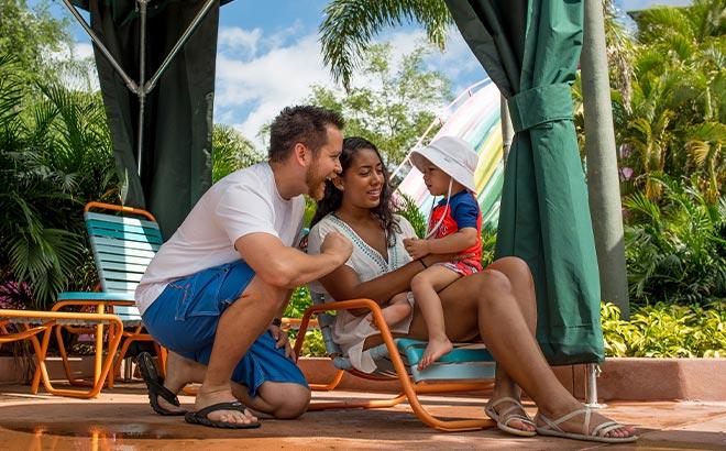 Cabana at Aquatica Orlando