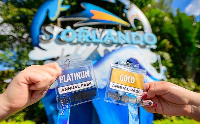 Gold and Platinum Annual Pass Cards