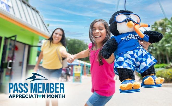 Pass Member Appreciation Month at SeaWorld Orlando
