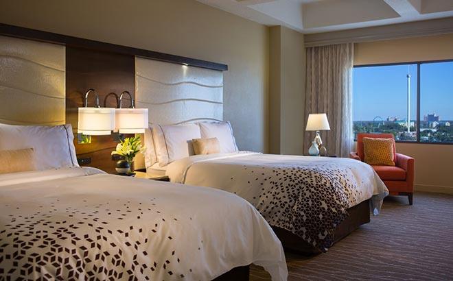 SeaWorld Orlando Renassance Two Queen Bed Room