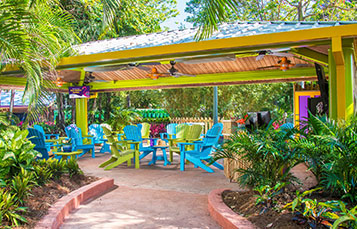Pass Members can relax and recharge at the new Pass Member Pavilion