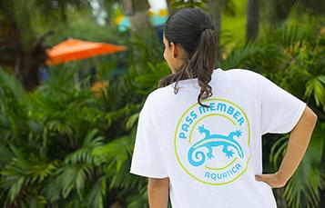 Aquatica Exclusive Pass Member Tshirt