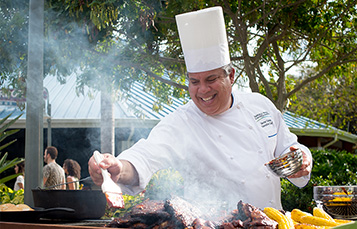 Chef Hector at Seven Seas Food Festival