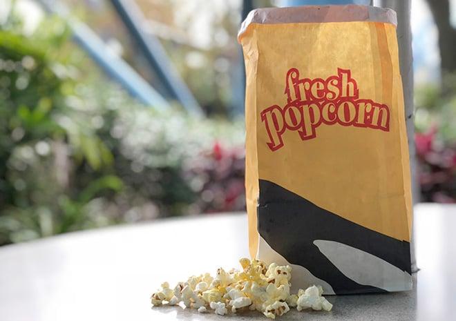 Popcorn at SeaWorld Orlando