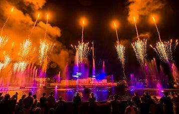 SeaWorld Orlando Fourth of July Fireworks