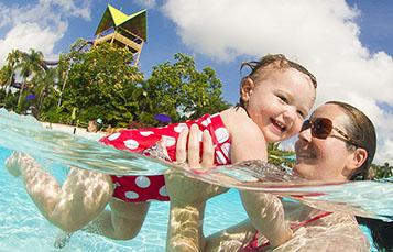 Swim Lessons at Aquatica Orlando
