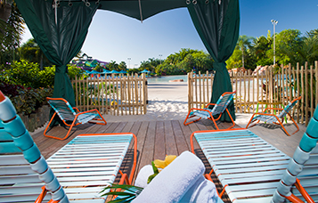 Aquatica Beachfront Cabanas