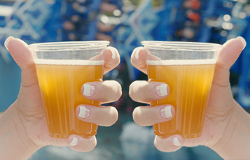 Two Beers at Seven Seas Food Festival