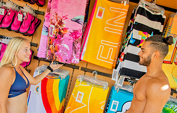 Shopping at Aquatica