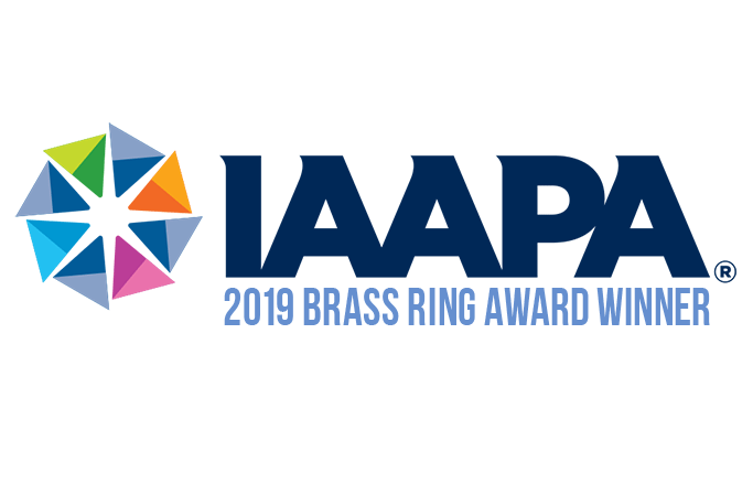 Recipient of the 2019 IAAPA Brass Ring Award