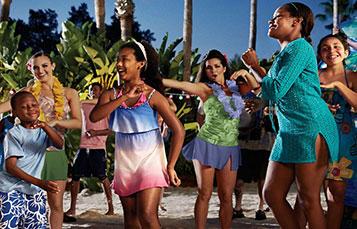 Aquatica Polynesian Party