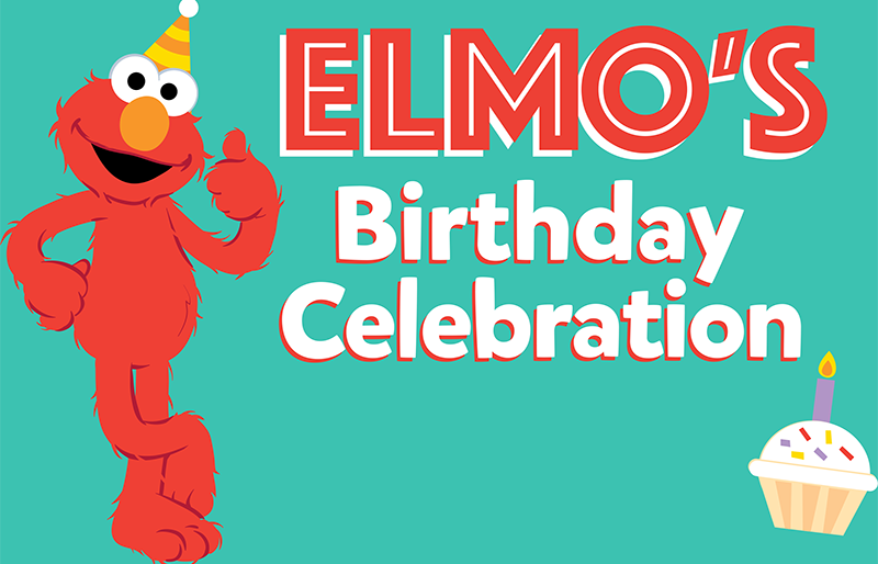 Elmo's Birthday Celebration Logo