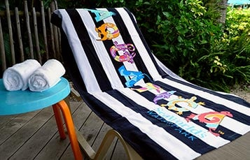 Pass Member Aquatica Beach Towel