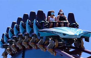 SeaWorld Orlando Mako Roller Coaster