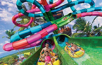 Riptide Race at Aquatica Orlando