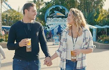 SeaWorld Orlando Craft Beer Festival event