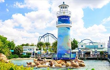 SeaWorld Orlando Main Entrance Lighthouse