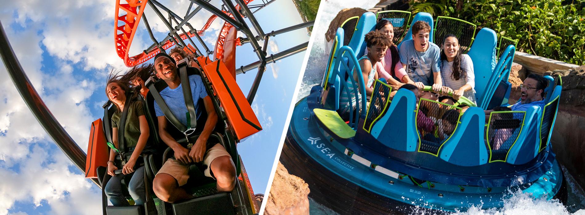 2 Park Offer to Busch Gardens and SeaWorld Orlando