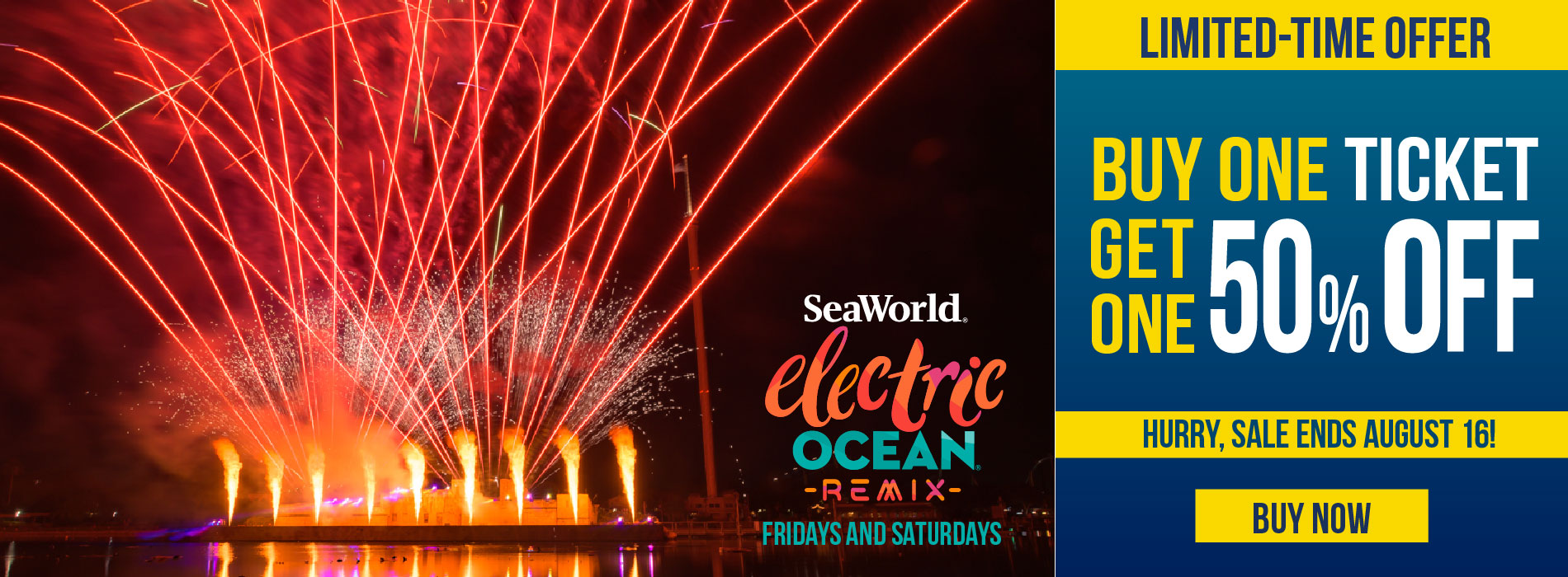 SeaWorld Orlando End of Summer Sale