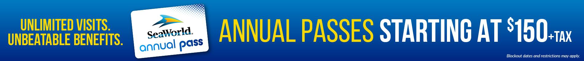 SeaWorld Orlando Annual Pass