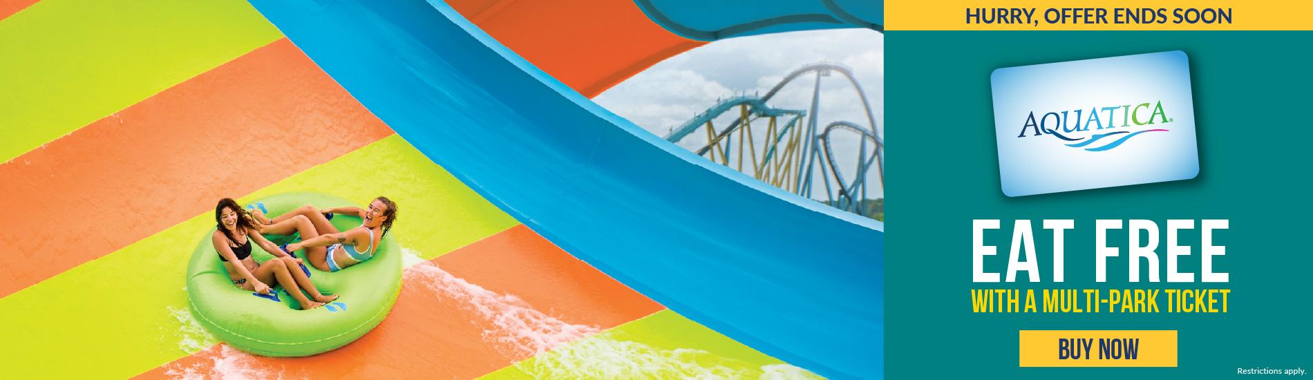 SeaWorld Orlando Eat Free Promotion